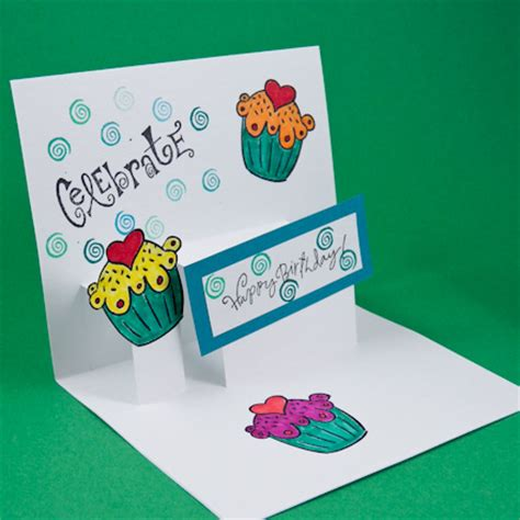 make a pop up birthday card card idea step pop up card tutorial greeting