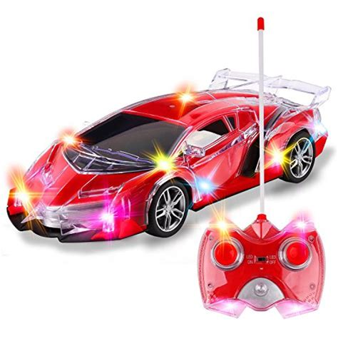 light up remote car kamisco light up racing car toys