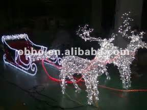 2013 outdoor christmas reindeer and sleigh motif buy