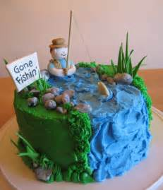 fish cake decorations fishing cakes decoration ideas birthday cakes