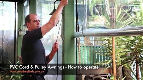 Roll Out Awning Creative Blinds Amp Awnings Pvc Cord Amp Pulley Awnings How To