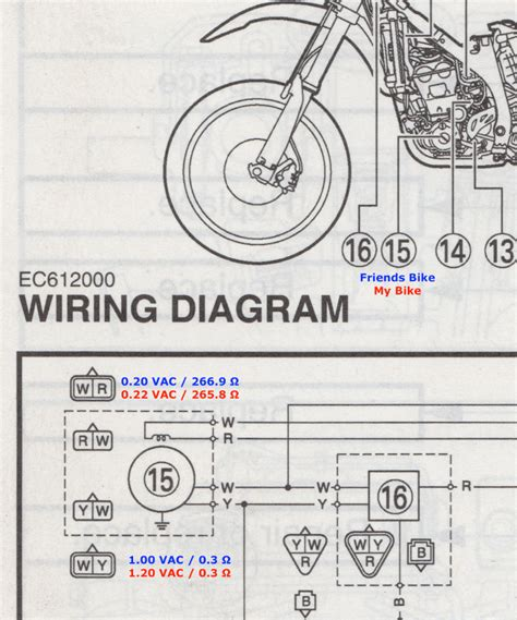 2012 wr450f wiring diagram 26 wiring diagram images