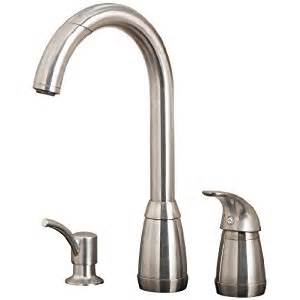 price pfister 52650ss contempra single handle kitchen faucet with pull spout sprayer and
