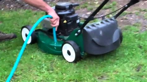 cleaning your lawn mower youtube