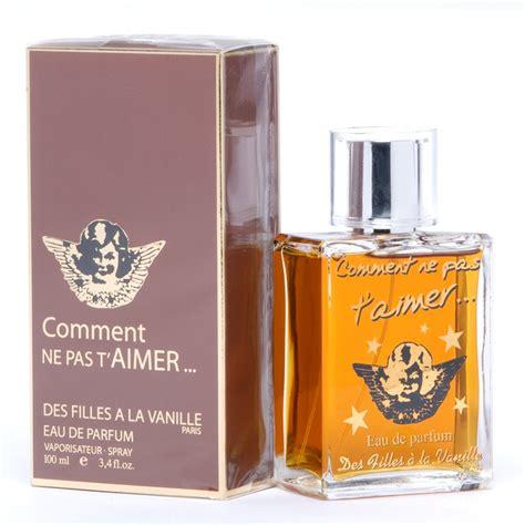 parfum à la vanille comment ne pas t aimer des filles a la vanille perfume a fragrance for