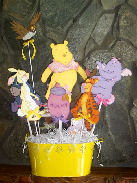 pooh baby shower decorations baby pooh decorations best baby decoration