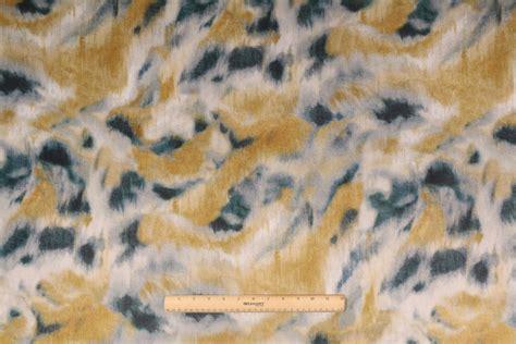 printed velvet upholstery fabric 9 6 yards tfa trompe l oeil bk printed poly velvet
