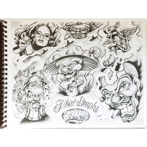 gangster tattoos gangster flash sheet page 3 1 gangsta flash sheets pictures to pin on