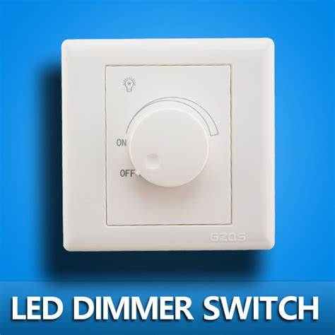Led Light Bulb Dimmer Switch Led Scr Dimmer Switch 630w Ac 220v Adjustable Controller Led Dimmer Switch For Dimmable Panel