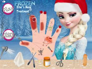 You can also play the elsa frozen baby game the baby is not frozen in