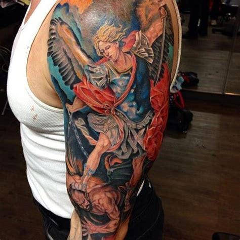 st michael tattoo meaning interesting st michael tattoos with powerful meanings