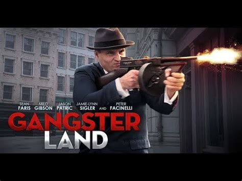 movie club gangster land by sean faris and milo gibson gangster land on blu ray dvd milo gibson sean faris peter facinelli youtube