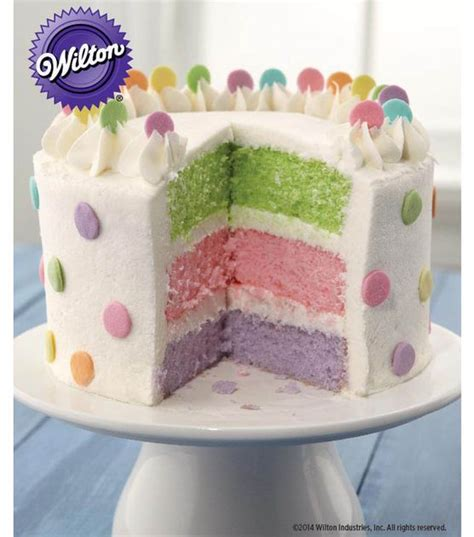 Joanns Cake Decorating by Pretty Dots Layer Cake Recipe From Wilton Cake Decorating