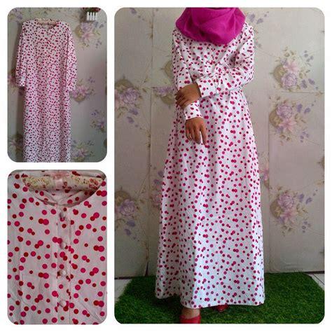 Grosir Murah Baju Dress Katun Stretch baju gamis katun jepang terbaru