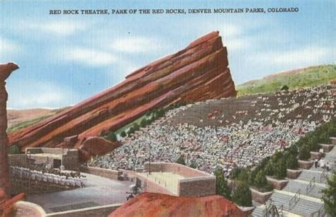 Where To Sell Gift Cards In Denver - pc red rock theatre denver mountain park co ebay
