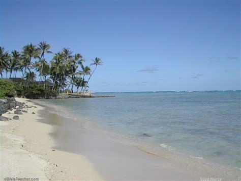 powerpoint themes beach hawaii beach ebibleteacher