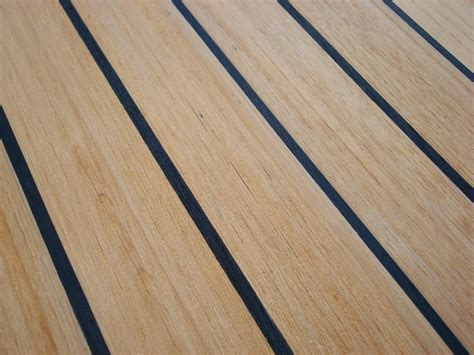 Teak Flooring For Boats by Nuteak Synthetic Marine Teak Decking Synthetic Marine