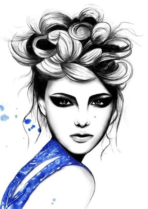design fashion hair fashion design blue dress hair inspiration pretty