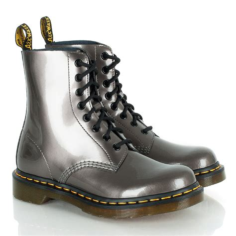 dr martens tonga pewter boots