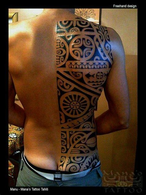 tribal back piece tattoos 25 best ideas about back tattoos on mens