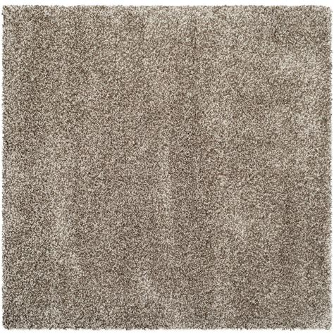 7 foot square rug safavieh milan shag gray 7 ft x 7 ft square area rug sg180 8080 7sq the home depot