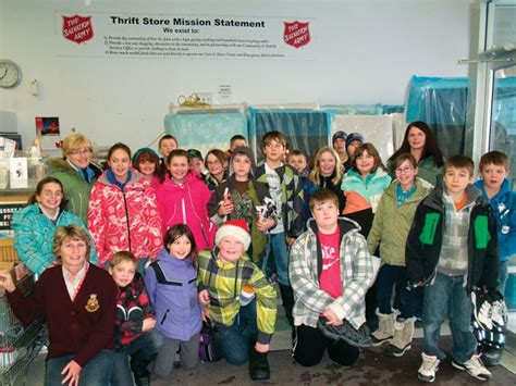 St Kidos Army salvation army canada articles fort st children learn about the army