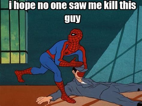 Funny Spider Man Memes - 60 s spiderman show caption memes the frederick news
