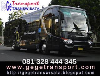 bus pariwisata yogyakarta gege transwisata selamat datang