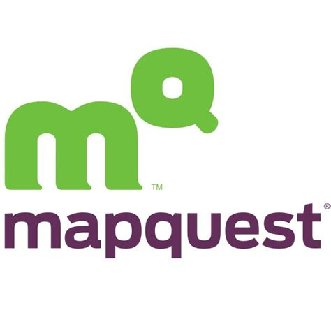 map qyest mapquest font and mapquest logo