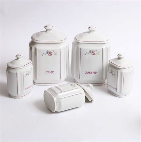 vintage kitchen canister sets vintage canister set vintage kitchen canisters porcelain