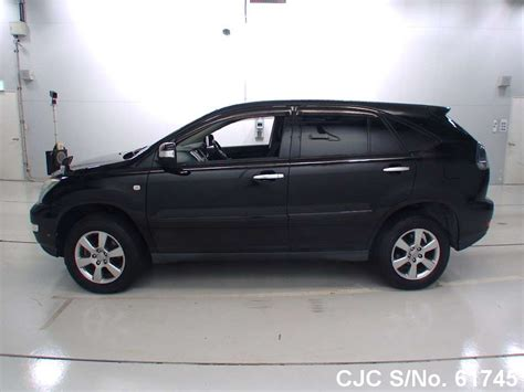 2010 Toyota Harrier Black For Sale Stock No 61745