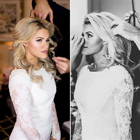 whitney carson dwts wedding wedding day hair get witney carson s exact curls