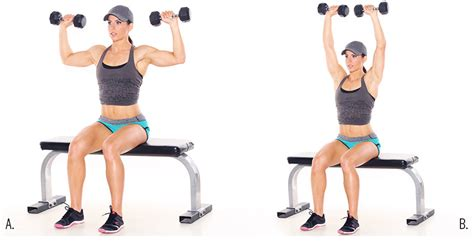 seated shoulder dumbbell press build strength strong fitness magazine