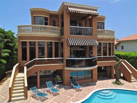 3 story house estate of the day 9 9 million mediterranean mansion in lantana florida