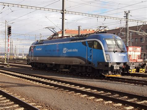 Cd Shunting cd railjet 1216 235 shunts at praha hl n on 8 november 2013 rail pictures