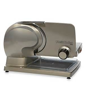 Small Home Slicer Chef Schoice 174 International Electric Food Slicer Bed