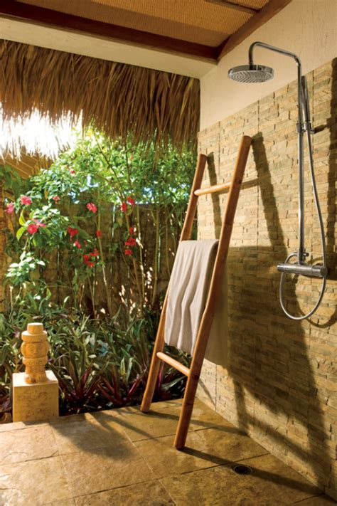 best outdoor shower best honeymoon resorts with outdoor showers
