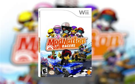Cd Modnation Racers modnation racers wii box cover by thesuperboxart3ds