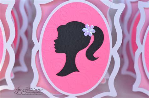 barbie jingvitations