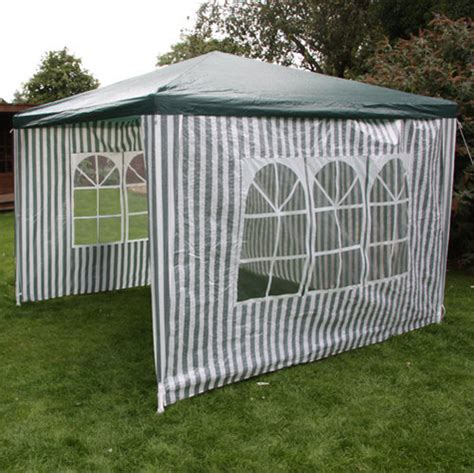 Small Garden Gazebo With Sides Garden Gazebo With 4 Sides 3 X 3m Garden Gazebos
