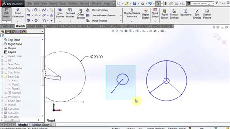 layout design solidworks solidworks layout based design youtube