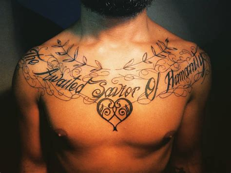 tattoo savior the awaited savior of humanity