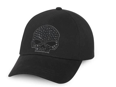 99502 15vw harley davidson skull baseball cap at