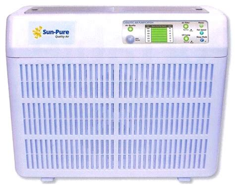 sun sp 20 air purifier filters and uv ls