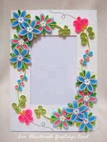 Handmade Frame Designs - easy quilling designs for photo frames