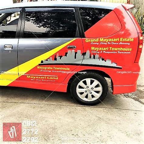 Stiker Branding Kemuning Mobil Bandung mangele stiker branding mobil terlaris di bandung