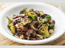Broccoli and Mushroom Stir-Fry   Healthy Stir-Fry Recipes Raw Cashews Calories 1 Cup