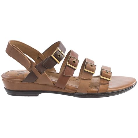 sofft sandals sofft sapphire leather sandals for save 81