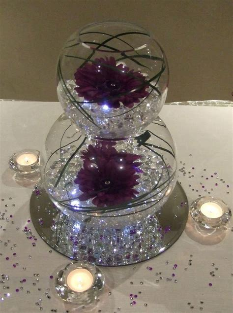 Water Bowl Decoration by Best 25 Fish Bowl Centerpieces Ideas On Water