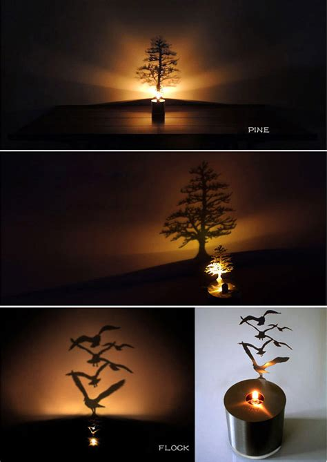 Shadow Projection L by Dealsmachine Creative Pine Shadow Projection Led L